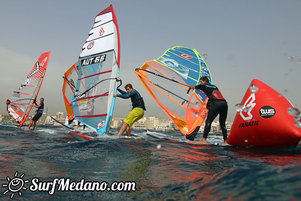 Light wind TWS Pro Slalom Training El Medano Tenerife 24-02-2017
