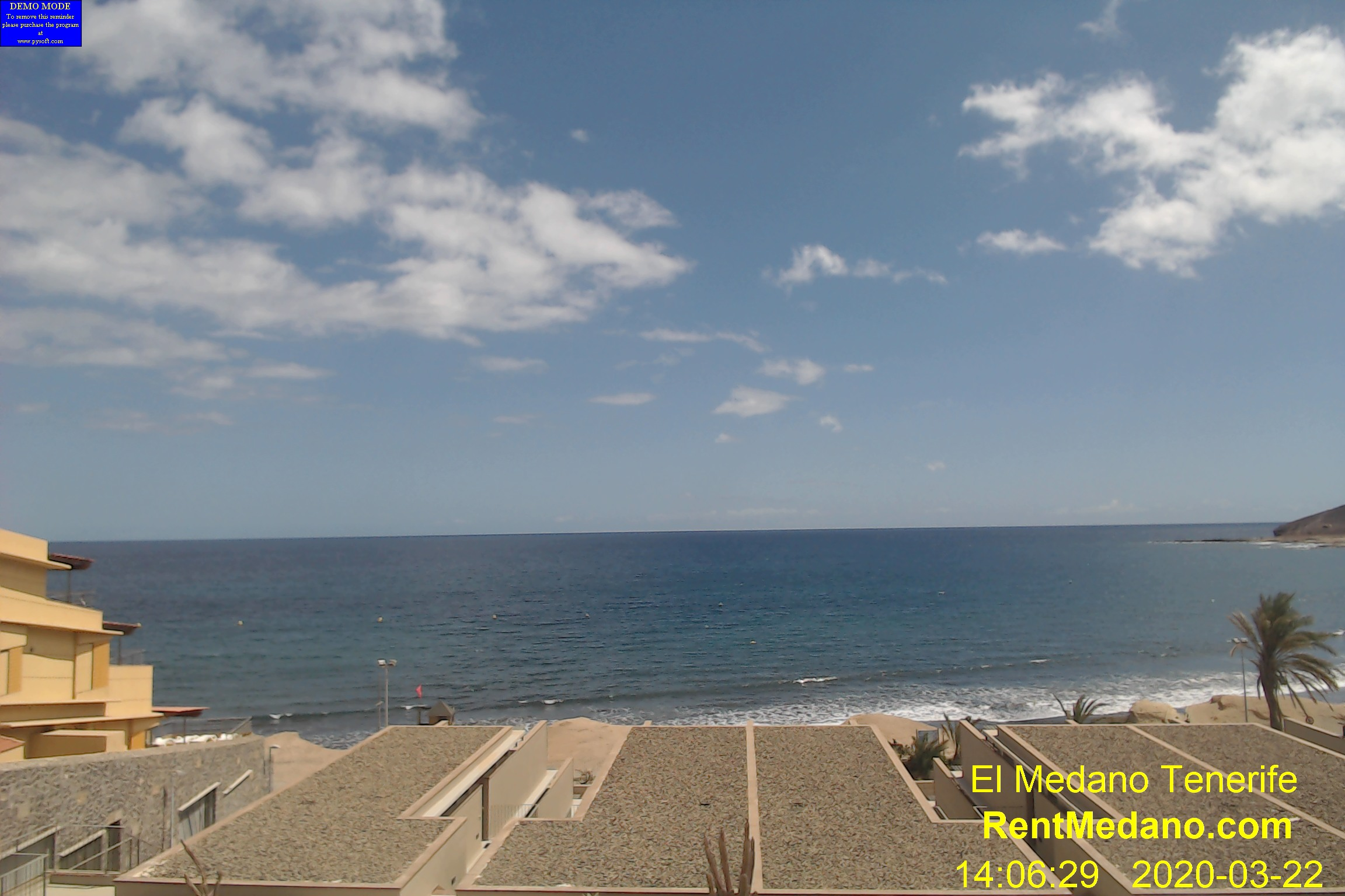 El Medano Ocean View WebCAm